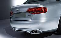 Cпойлер Audi A4 (B8) 3 части