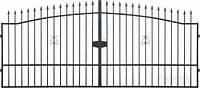 Ворота металлические вензель 1800х4000 мм