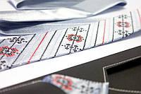 """Мужской вышитый набор: галстук с платком """"Гуляйвітер"""", фото 1"""