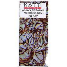 KATTi Фольга переводная 36 067 абстракция камень 20см, фото 2