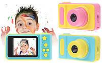 Детский фотоаппарат с записью видео и c цветным экраном dvr baby camera V7, фото 1