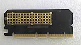 PCI-E x4 x8 x16 - M.2 ( NVMe ) SSD ключ M x4 переходник адаптер низкопрофильный, фото 5