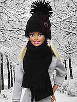 Одежда для кукол Барби - шапка и шарф