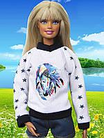 Одежда для кукол Барби - кофта