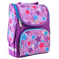 """Рюкзак шкільний,каркасний для дівчинки PG-11 """"Funny Stars"""", SMART"""