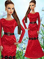 Одежда для кукол Барби (вечернее платье)