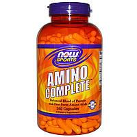 Аминокомплекс (Amino) Now Foods 360 капсул