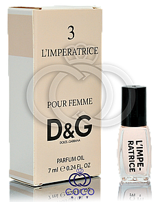 Духи масляные D&G 3 L`Imperatrice 7 Ml