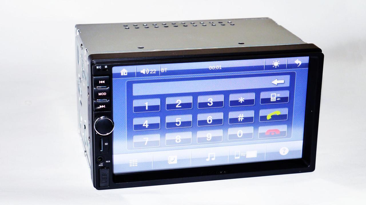 Автомагнитола 2din Pioneer 7024 MP5 USB+SD+Bluetooth с сенсорным экраном