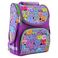 """Рюкзак шкільний,каркасний для дівчинки PG-11 """"Kotomania"""", SMART"""
