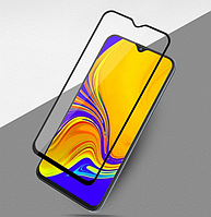Защитное стекло 5D, 9H Полной оклейки для Samsung Galaxy A10 2019, Захисне скло
