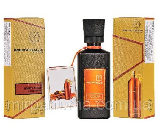 Мини парфюм унисекс Montale Honey Aoud 60 мл