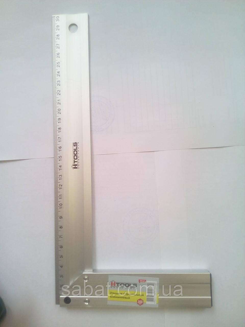 Уголок строительный алюминиевый 30см