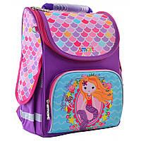 """Рюкзак шкільний,каркасний для дівчинки PG-11 """"Mermaid"""", SMART"""