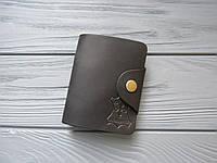 Кожаная карманная визитница для карт_картхолдер