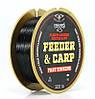 Леска Cralusso Feeder&Carp Fast Sinking Fluorocarbon Coated Black 300m 0.30mm 7.2kg QSP (2096)