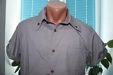 Мужская рубашка с коротким рукавом S, M, L, фото 3