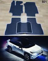 Коврики на Toyota RAV4 '19-. Автоковрики EVA, фото 1