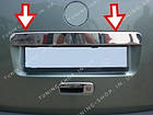 Накладка на планку багажника Volkswagen Caddy 2004-2010 ляда,распашонка, фото 4