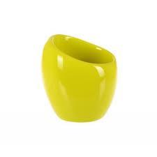 Стакан для зубных щеток и пасты серия Нора зеленый