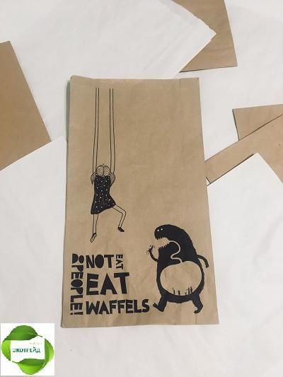 Изготовление бумажных пакетов по Вашим размерам