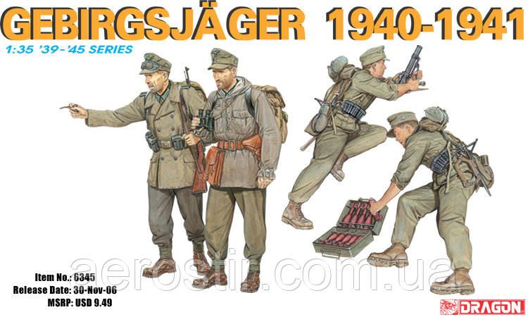 German Gebirgsjäger (1940-41) 1/35 Dragon 6345