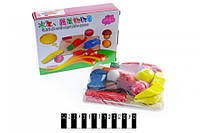 Набор игрушечных овощей и фруктов на липучках КХМ-535, делятся пополам