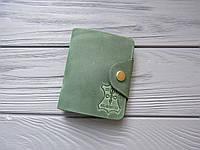 Кожаный картхолдер визитница для банковских карт_кредитница