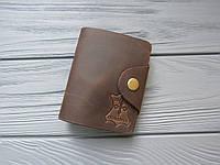 Визитница карманная для банковских и скидочных карт из натуральной кожи_картхолдер