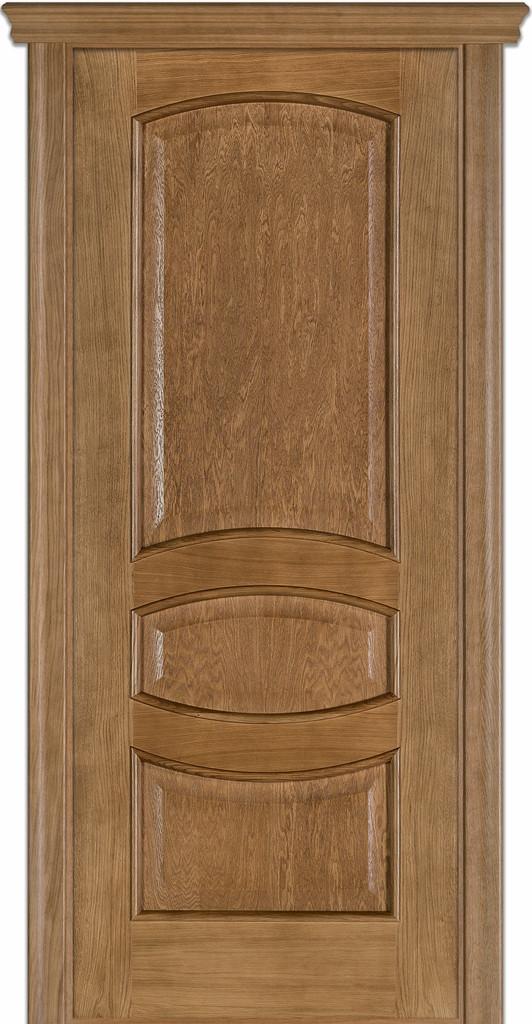 Двері Caro 50, полотно, шпон, дуб браун, даймонд