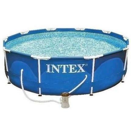 Бассейн каркасный Intex 28212 (366х76 см.)  с фильтр-насосом, фото 2