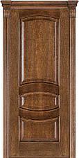 Двері Caro 50, полотно+коробка+1 до-кт наличників, шпон, дуб браун, даймонд, фото 3
