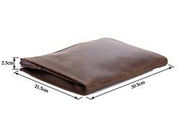 Клатч 7160R brown