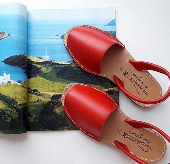 e98017797 Удобные сандалии из натуральной кожи MENORQUINA Испания - Интернет-магазин