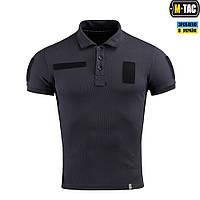 Поло Тактичне M-Tac Polyester Dark Navy Blue Size S