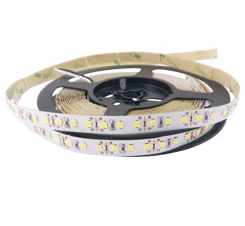 Світлодіодна лента 12вольт 7500К 12Вт 800лм 2835-120-IP33-CWb-10-12 холодно біла 9216
