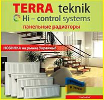 Стальной радиатор Terra Teknik т11 500x400 боковое подключение