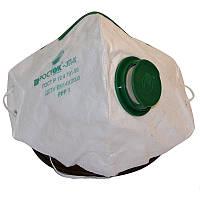 Противопыльевой респиратор росток 3пк с клапаном для выдоха и первой степенью защиты