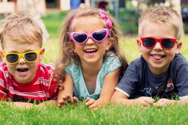 Солнечные очки для деток