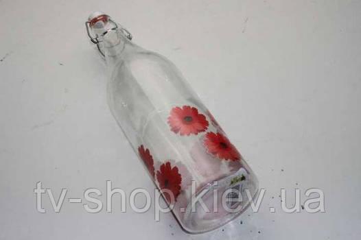 Бутылка с зажимом (2 вида)