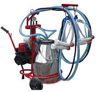 Аппарат для одновременного доения двух коз Белка-2