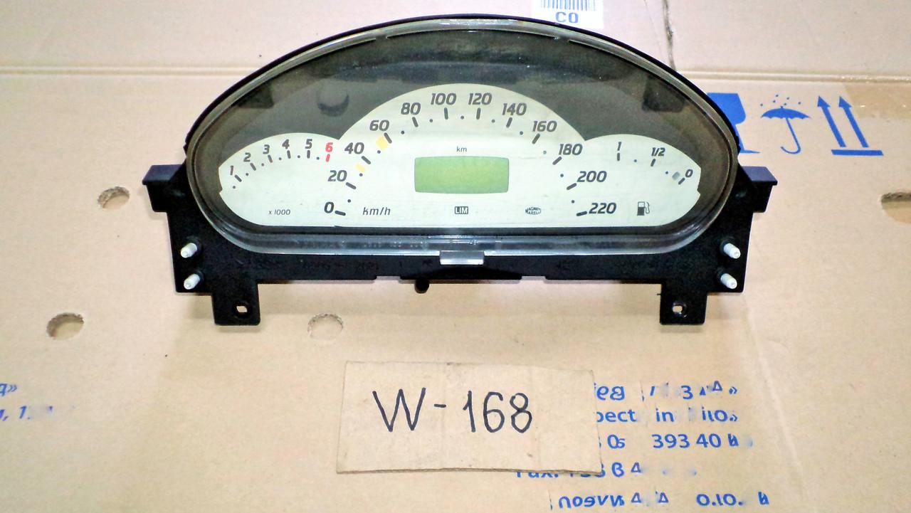 панель управления мерседес w168 описание