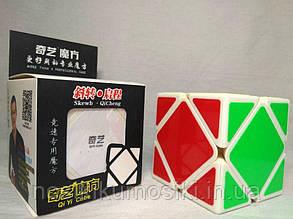 Головоломка Qiyi Cube QiXing білий корпус Skewb Скьюб