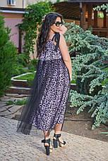 Женское платье большого размера летнее, фото 3