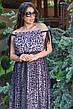 Женское платье большого размера летнее, фото 6