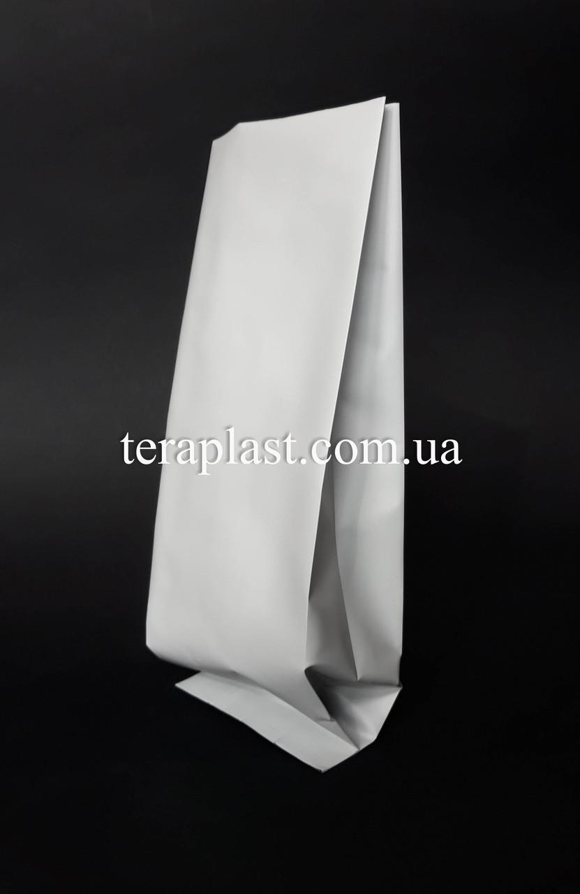 Пакет с центральным швом белый 500г 90х320х30