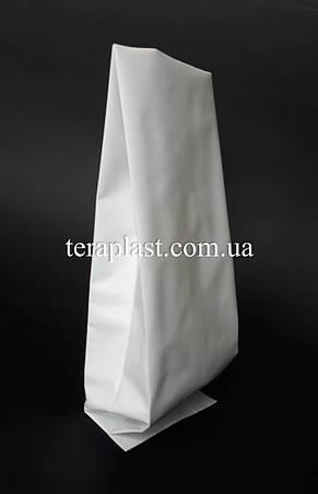Пакет с центральным швом белый 500г 90х320х30, фото 2