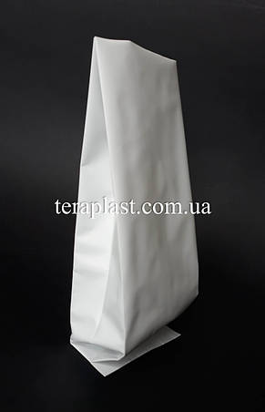 Пакет з центральним швом білий 500г 90х320х30, фото 2