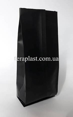 Пакет с центральным швом черный 1кг 135х360х35, фото 2
