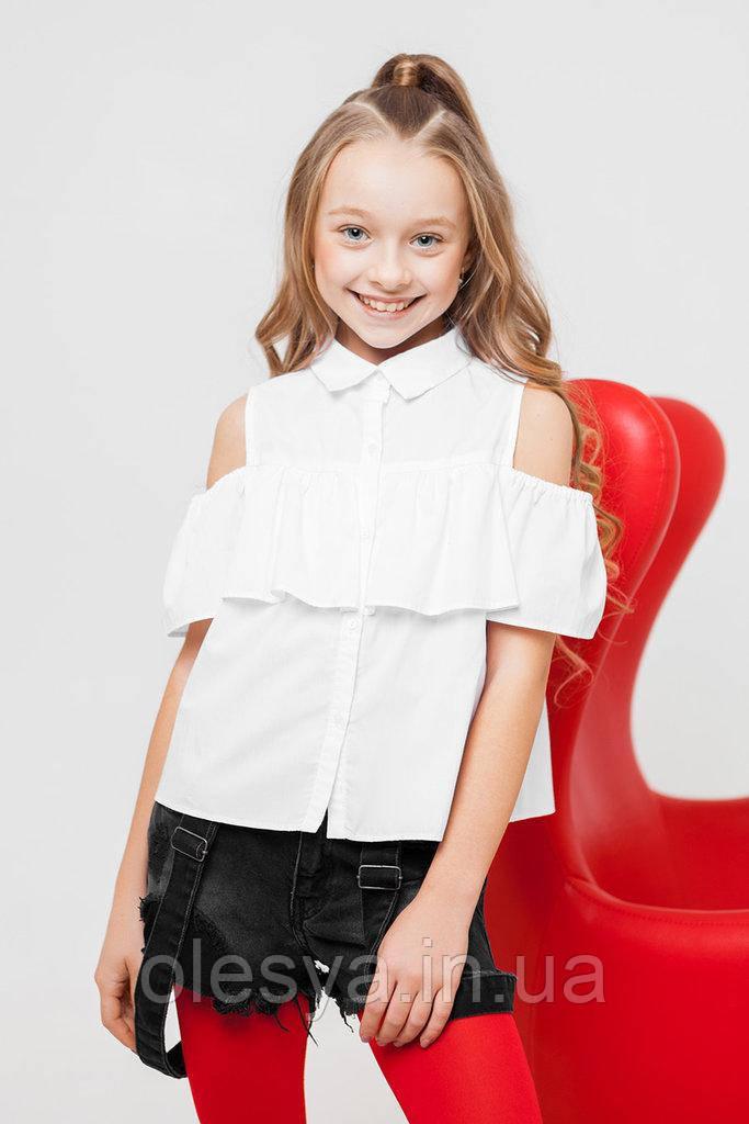 Блуза детская школьная модная sh-52 Размер 134 Новинка